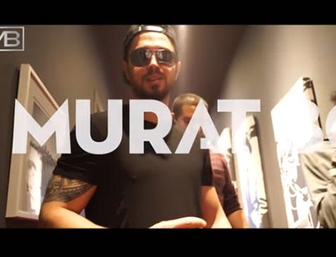 Murat Boz... 'ÜSTADLARA SAYGILARIMLA!'