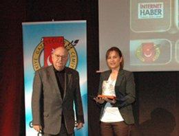 TGC Ödülleri dağıtıldı... İNTERNET ÖDÜLÜ, İNTERNET HABER.COM'A