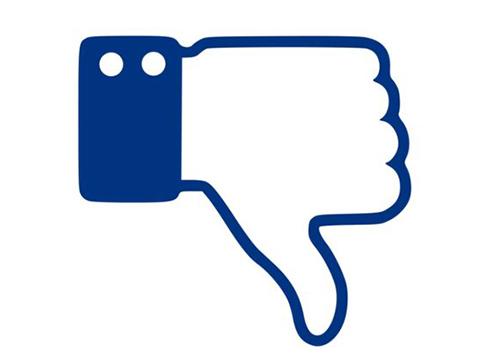 Facebook... ''DOWNVOTE'' HAMLESİ!...