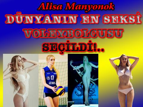 Alisa Manyonok... GÜZELLİĞİYLE GÖZ KAMAŞTIRIYOR..!