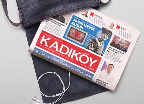 KADIKÖY'E YEPYENİ BİR GAZETE!