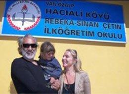 Sinan-Rebecca Çetin... KÖYLÜLERDEN VETO YEDİLER!
