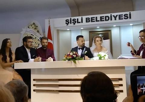 Sinan Çalışkanoğlu... EVLİLER KERVANINA KATILDI!