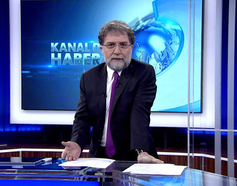 Ahmet Hakan...AMİRAL GEMİSİNİN KAPTANI OLDU!