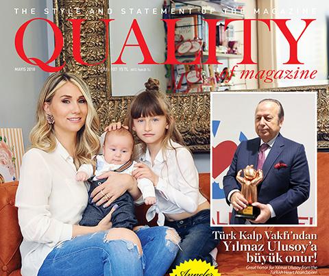 Quality of Magazine... İNTERNETTE DE AYNI ADRESTE!