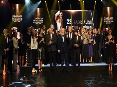 23. Sadri Alışık Tiyatro ve Sinema Ödülleri... SAHİPLERİNİ BULDU!..