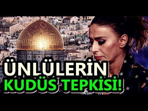 ÜNLÜ İSİMLERİN KUDÜS TEPKİLERİ!