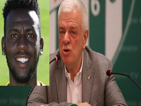 Bursaspor Başkanı Ali Ay... ADRIANA LIMA GAFI!..