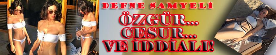 Defne Samyeli... BİKİNİLİ VE SEKSİ POZLARI İDDİASINI ORTAYA KOYDU!..