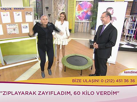 Ebru Akel Sancak... ZIPLAYARAK 60 KİLO VEREN KADININ HİKAYESİ!..