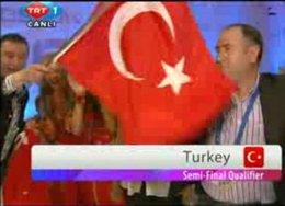 TÜRKİYE EUROVİSİON'DA YARIŞMAYA HAK KAZANDI!