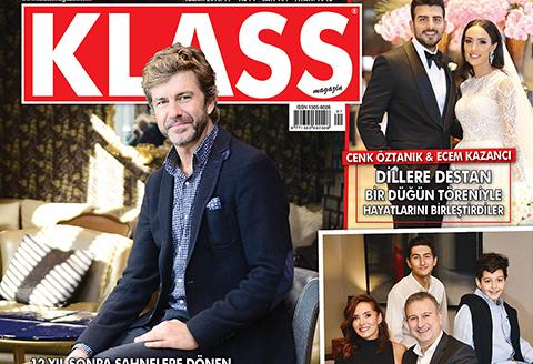 Klass Magazin... YİNE ÇOK ÖZEL KONULARLA DOLU!