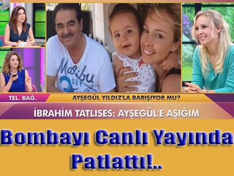 İbrahim Tatlıses... CANLI YAYINDA EVLENME TEKLİF ETTİ!..
