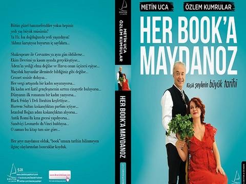 """Metin Uca-Prof. Dr. Özlem Kumrular... """"HER BOOK'A MAYDONOZ"""" RAFLARDA!.."""