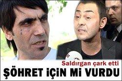 Serdar Ortaç'a yumruk... ADLİYELİK ETTİ!