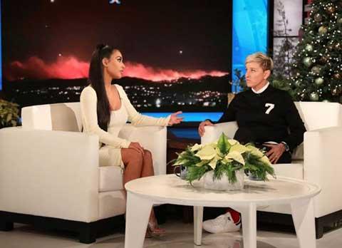 Kim Kardashian... EVİNİ YANGINDAN KURTARIŞINI ANLATTI!