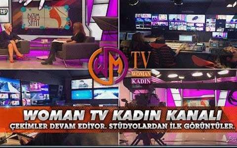 Women TV... YAYIN HAYATINA BAŞLADI!