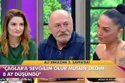 Ali Erkazan... CANLI YAYINDA EVLENME TEKLİF ETTİ!
