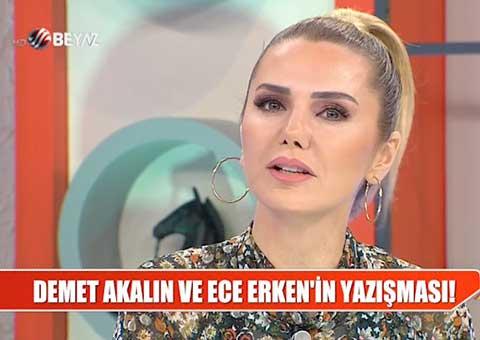 Ece Erken - Demet Akalın... POLEMİK ALEVLENDİ!