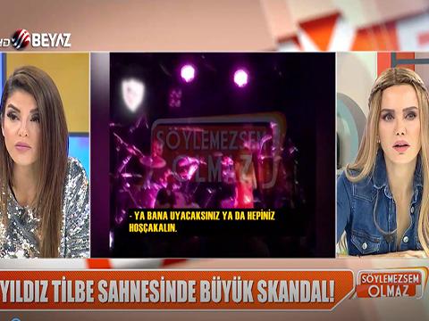 Yıldız Tilbe... GENE YILDIZ, GENE SKANDAL!..