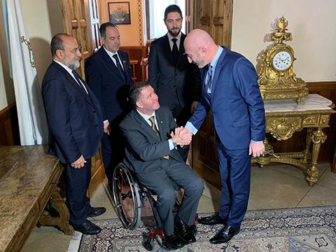 Serhat Hacıpaşalıoğlu... SAN MARİNO DEVLET  BAŞKANLARINI  MAKAMINDA ZİYARET  ETTİ!