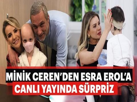 Esra Erol...  MİNİK CEREN'DEN CANLI YAYINDA SÜRPRİZ!..