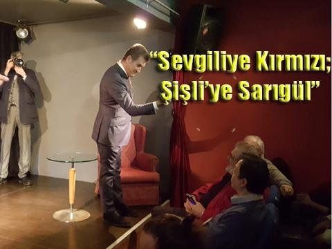 Mustafa Sarıgül… ODA TİYATROSU'NDA BAŞKAN OLARAK SANATA NASIL BAKACAĞINI ANLATTI!