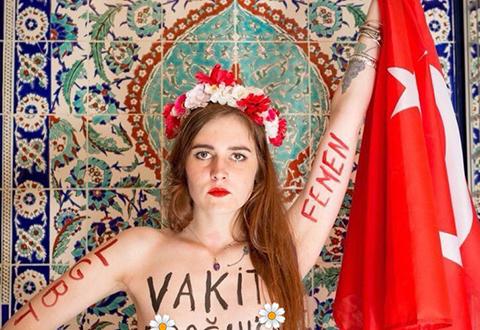 FEMEN'DEN CÜRETKAR HAMLE!