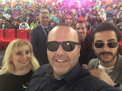 """İbrahim Muratoğlu... GENÇ OYUNCU ELAZIĞ """"ÇAYDA ÇIRA FİLM FESTİVALİ""""NDE"""
