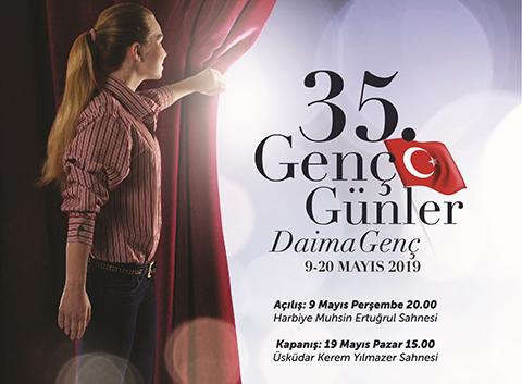 """İBB Şehir Tiyatroları... """"35. GENÇ GÜNLER"""" BAŞLIYOR!"""