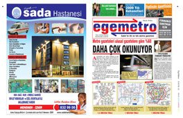 """EGEMETRO"" GAZETESİ ARTIK SİZİNLE!"