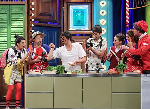 Güldür Güldür Show... NUSRET JAPON MÜŞTERİLERE ET PİŞİRİRSE!