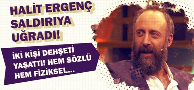 Halit Ergenç... SALDIRIYA UĞRADI, 2 GÖZALTI VAR!