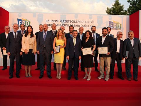 Ekonomi Gazetecileri Derneği...11.EKONOMİ BASIN BAŞARI ÖDÜLLERİ SAHİPLERİNİ BULDU!