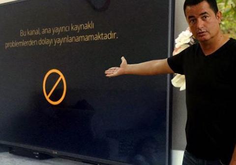 Acun Ilıcalı...NAZARA GELDİ, KANALDA YANGIN ÇIKTI!