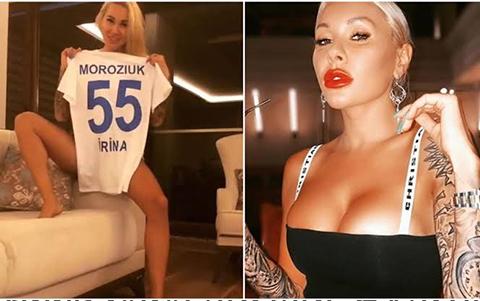 İrina Moroziuk...RİZESPOR'UN YENGESİ DAVUT GÜLOĞLU HAYRANI ÇIKTI!