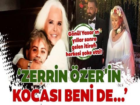 """Gönül Yazar... """"TAŞ BEBEK"""" TEN ZERRİN ÖZER İTİRAFI!.."""
