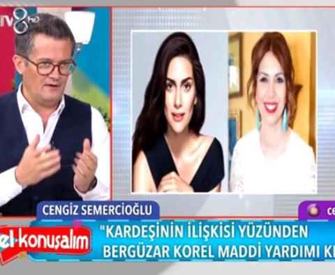 Bergüzar Korel Ergenç...'ABLASI SIRP BİR KADINLA EVLİ!'