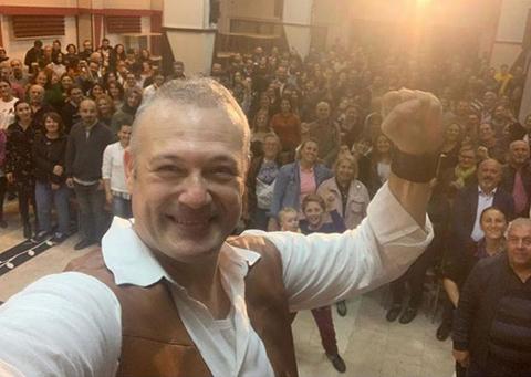 Levent Üzümcü...SANAT 'YASAK' DİNLEMEDİ!