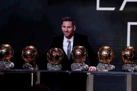 Lionel Messi...ALTINCI DEFA ALTIN TOP ELLERİNDE!