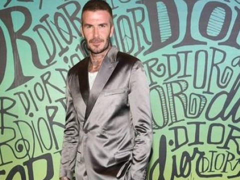 David Beckham... PARLAK TAKIMI İLE İMAJINI ZEDELEDİ!..