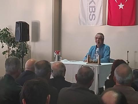 Erhan Yazıcıoğlu…GEBZE'DE KÜLTÜR SANAT SOHBETLERİ!