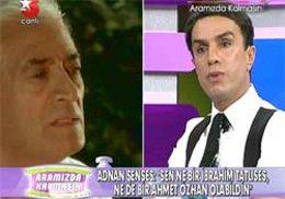 Adnan Şenses-Yılmaz Morgül... CANLI YAYINDA BİRBİRLERİNE GİRDİLER...