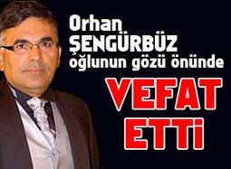 Orhan Şengürbüz... KADİFE SESLİ SPİKERİ KAYBETTİK...