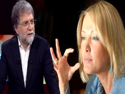 "Berna Laçin'den Ahmet Hakan'a...""TERBİYE YOKSUNU""!"