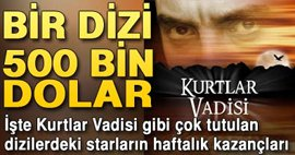DİZİLER DARPHANE GİBİ...