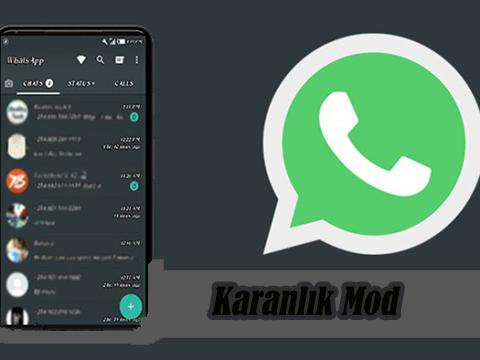 WhatsApp... KARANLIK MOD NİHAYET GELDİ!