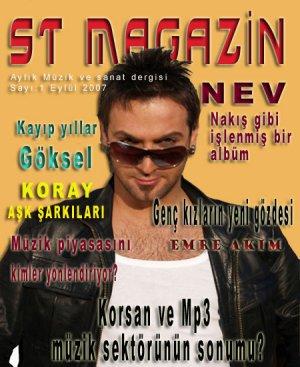 İnternette yepyeni bir müzik dergisi... ST MAGAZİN