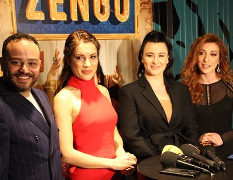 Zengo...  HALK GALASINDA KAHKAHA TUFANI!