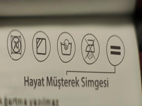 HAZIR GİYİM DEVİNDEN 'EŞİTTİR' SEMBOLÜ!
